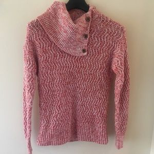 Banana Republic Button Turtleneck Sweater; S; EUC